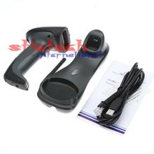 by dhl or ems 10 sets 500m Long distance wireless barcode scanner with memory wireless barcode reader
