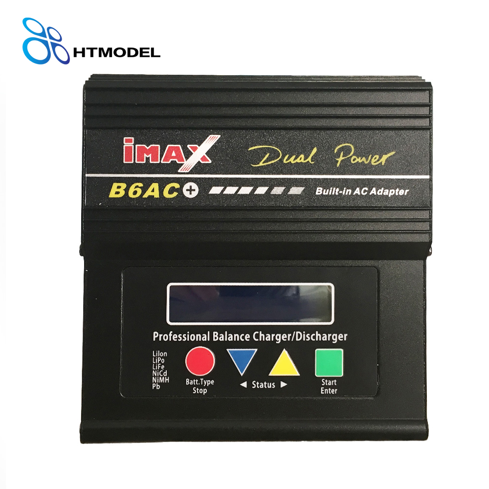 1-6s LiPo/LiFe/Lilon Battery iMax B6AC+ AC DC Dual Power B6AC Plus 50W 5A RC Balance Charger Discharger<br>