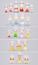 wholesale Japan original bulks sylvanian families cute cats rabbits dolls toys for girls Birthday Christmas gift(China)