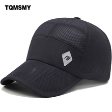TQMSMY Summer outdoors Hats Mesh Baseball Cap Men Quick-Drying Breathable Women Collective activities Caps TMAT76(China)