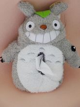 Plush toy 1pc creative funny anime totoro vehicle tissue paper towel cover home decoration children stuffed gift for baby(China)