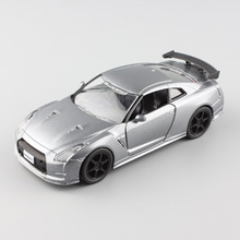 1:32 Scale automaxx 2014 Nissan Skyline GT-R GTR R35 diecast sport miniature auto vehicle model cheap toy cars for kids baby boy(China)