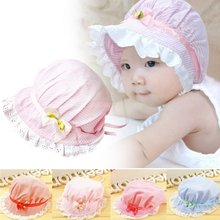 0-12Months Boy Baby Toddler Cotton Bucket Hat Summer Sun Beach Bonnet Beanie Cap