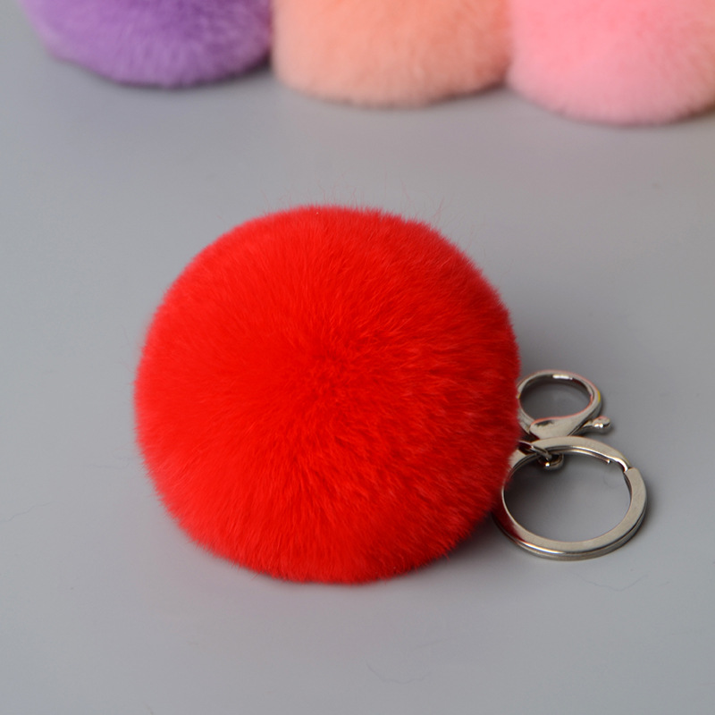 rex rabbit pompom keychbains (9)