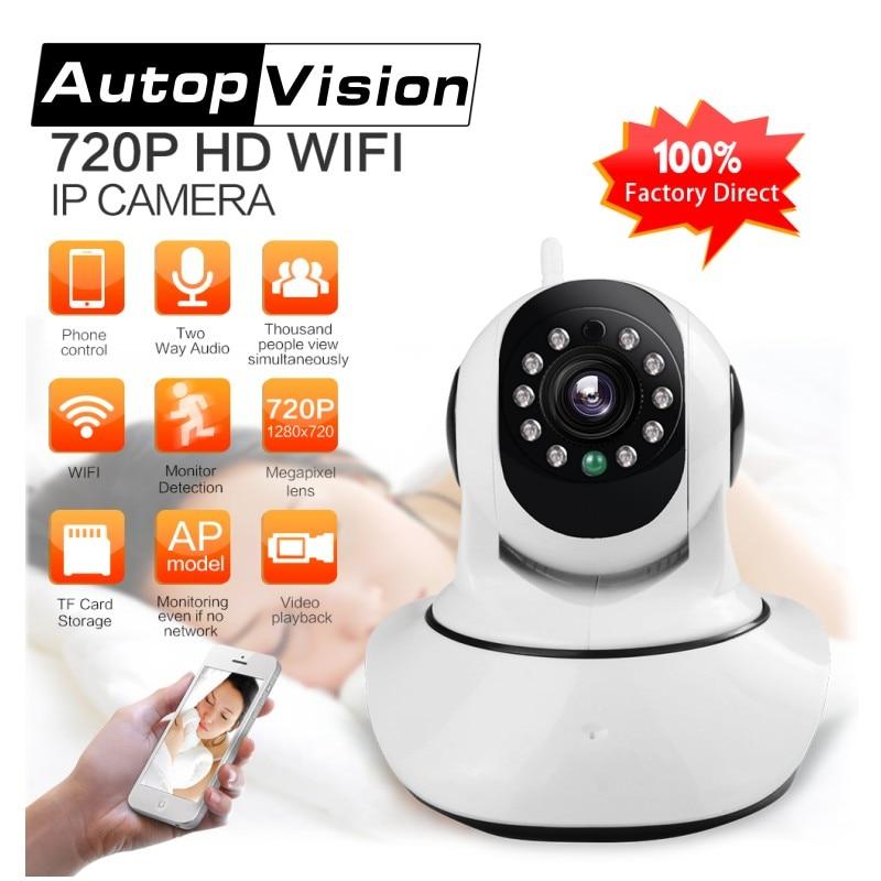 LS-F2 HD 720P IP Camera P2P Pan Tilt Ir Cut Wifi Wireless Network IP Security Camera Baby Monitor Indoor Mini CCTV Camera<br>