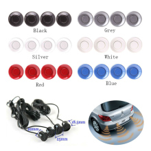 Free shipping KEELEAD 4pcs Assistance Reversing Radar Rrobe Parking Sensors black blue gray red