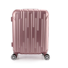 21 INCH 2125# High quality supply fashion color ABS luggage waterproof suitcase gift bags of universal wheel #EC FREE SHIPPING
