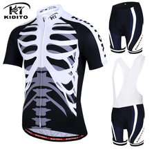KIDITOKT Brand 2017 New Cycling Jersey Sets MTB Bike Clothing Wear Racing Mountain Bicycle Clothes Uniform Maillot Ropa Ciclismo
