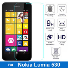 Ultra-Thin Screen Protector Tempered Glass for Microsoft Nokia Lumia 530 Global Dual Sim nam Tougher Film Glass