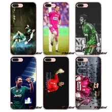 For Sony Xperia Z Z1 Z2 Z3 Z5 compact M2 M4 M5 E3 T3 XA Aqua LG G4 G5 G3 G2 Mini Gianluigi Buffon Juventus Soccer Star Case(China)