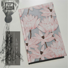 Original Pure Handwork Notebook Diary book Elegant Korea Japan Hand Book Japanese Style Ancient Lotus(China)