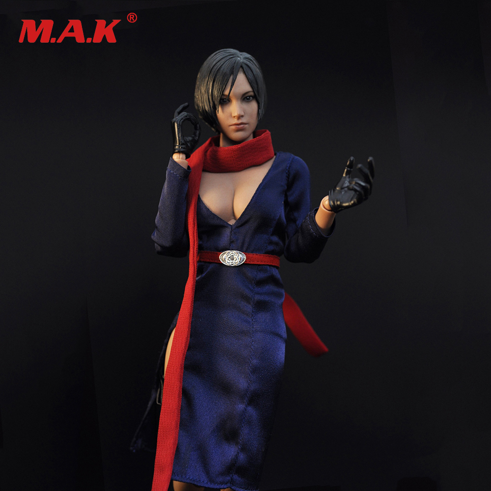 1/6 Scale Ada Wang Clothing Set Resident Evil 5 Female Clothes Suit for 12 inches PH Verycool HT Action Figure<br>
