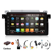 Android 6.0 car radio DVD For BMW E46 M3 with Bluetooth mobile Phone mirror link BT 1080P Map(China)