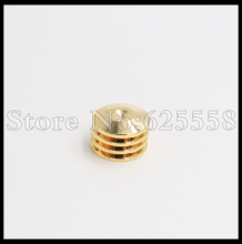 4PCS 5MM Gold Plated Speaker Spike Mat Base Pad Shoe Isolation