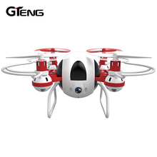Gteng T902C mini remote control helicopter drone with camera hd quadrocopter dron rc quadcopter aircraft quad copter droni toys(China)