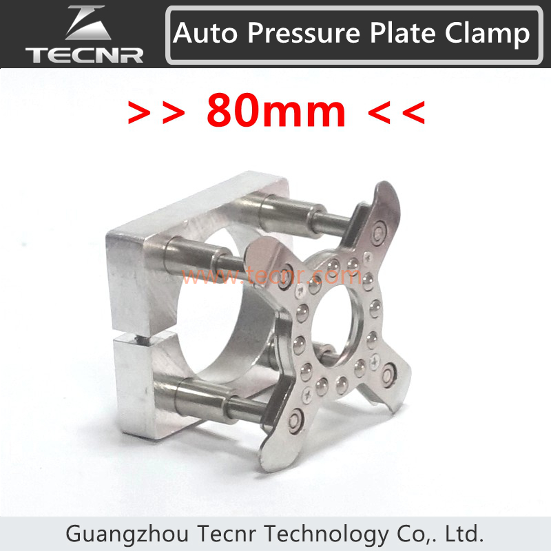 80MM Auto Pressure Plate Clamp for 1.5kw 2.2kw Spindle Motor CNC Router Parts<br>