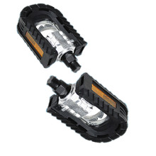 1 pair Aluminum Alloy Mountain Bike Bicycle Folding Pedals Pedal Non-slip