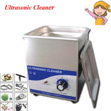 New Arrival 2L 220V Ultrasonic Cleaner Machine for Jewellery Cleaning Appliance JP-010(China)