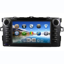 7 inch Touch Screen 2 din Car DVD GPS for Toyota Auris / Toyota Corolla hatchback Car Radio Stereo FM/AM/USB/SD/Bluetooth+map