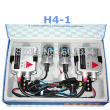 Buy Stock New 12V/35W CE HID Xenon Conversion Kit (H4-1) Single Beam (3000K/4300K/6000K/8000K) Headlight Foglight for $23.75 in AliExpress store