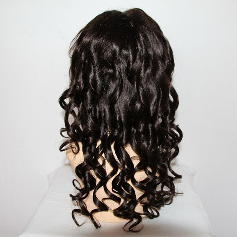 Factory price human hair full lace wig India remy kertain hair front lace wigs 130% density loose wave hair wigs with baby hair<br><br>Aliexpress