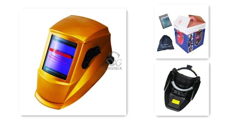 EH-910 Pro Solar Welder Mask Auto-Darkening Welding Helmet  grinding yellow<br><br>Aliexpress
