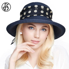 2017 Straw Hat Female Summer Foldable Hat Wide Brim Sun Hats Women Fashion Bowknot Girl Beach Visor Floppy Hat Dark Blue Yellow(China)