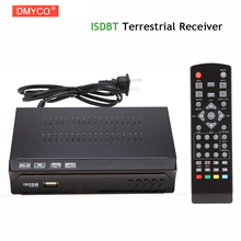 H.264 /MPEG-2/4 Full HD 1080P ISDBT Terrestrial Receiver Set-top Box Integrate Services Digital Video Broadcast TV Receiver HDTV(China)