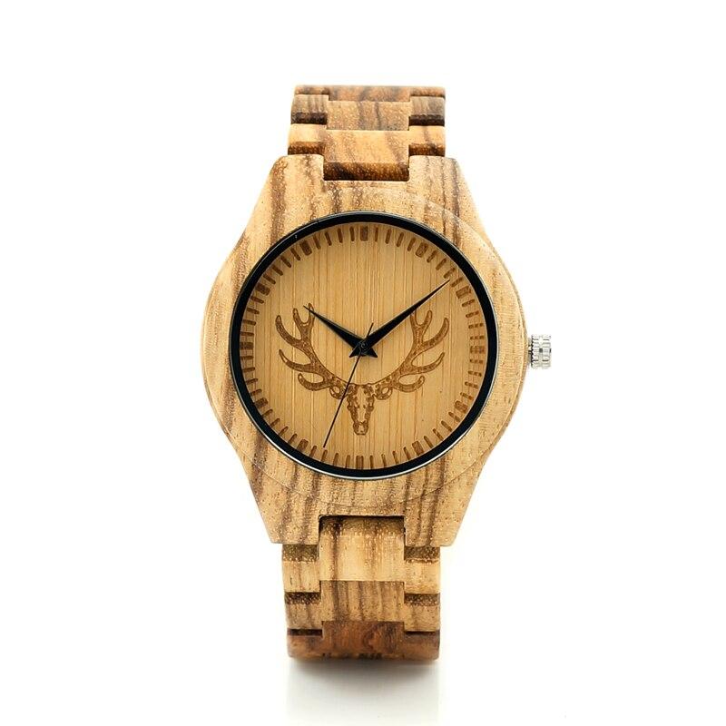 BOBO BIRD F28 Wolf Engraved Dial Wooden Wristwatch Mens Brand Designer Quartz Clock Zebra Wood.Leather Strap Available<br><br>Aliexpress