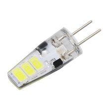 10pcs G4 LED 6LEDs SMD 5733 Bulb DC 12V Corn Candle 5730 Light Replace 5W Compact Fluorescent Lamp For Chandelier