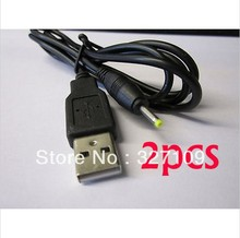 2PCS USB Cable Lead Charger for Prestigio Multipad PMP5588C_DUO Tablet PC