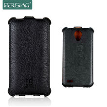 For Philips W6500 case Perfect Quality Leather Case for Philips W6500 flip Cover for Xenium CTW6500 Mobile Phone Bags P001