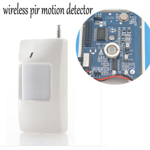 1pcs 433MHz Or 315MHZ Wireless Infrared detector PIR Motion Sensor for GSM/PSTN Auto Dial Home Alarm System(China)
