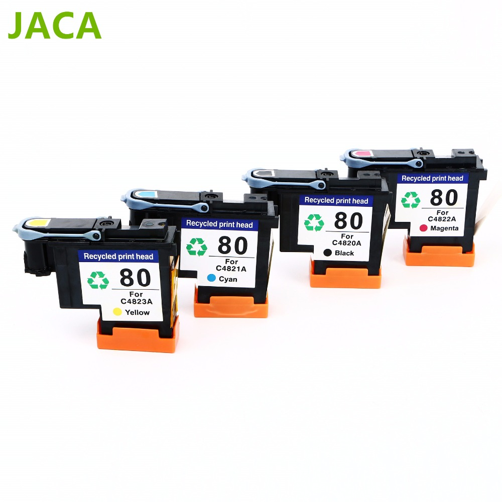 High quality For HP 80 Remanufactured Printhead for HP80 Printhead C4820A C4821A C4822A C4823A for Designjet 1000 1050 printer<br>