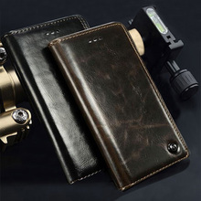 gorgeous High taste Flip leather Distinguished Retro  Mobile phone back cover 4.2'For blackberry z10 case