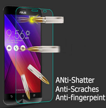 9H Tempered Glass For Asus Zenfone 2 Laser Ze500KL Ze550KL Ze500CL Ze550ML 3 MAx Zc550KL 4 5 ZD551KL Live G500TG Glass(China)