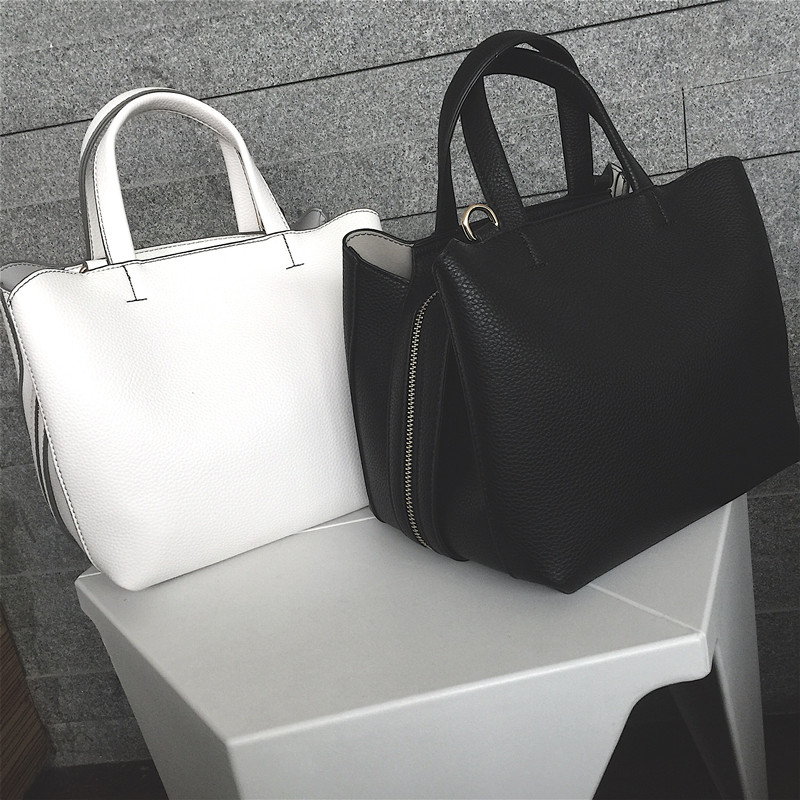 Women Boston Bag Totes For Female 2017 Summer New Wide Shoulder Strap Bag High Quality PU Leather Casual Crossbody Bolsa On Sale<br>