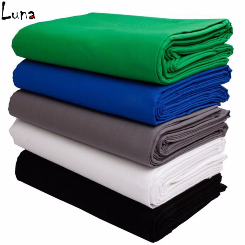Muslin screen cotton Photography backdrop Blue Solid color background lighting PS Cutout For Photo studio Chromakey<br>