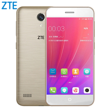 Original ZTE Blade A520 Mobile Phone 5.0 inch Quad Core 2G RAM 16G ROM Dual SIM Cards Front & Back Camera Android 6.0(China)