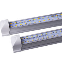 2pcs LED Integrated tube/lamp/light U-shaped 20W 2FT T8 Fluorescent AC85-265V high quality 60cm Factory direct sale