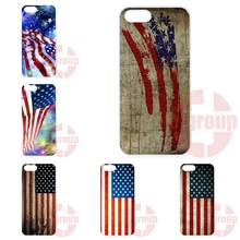 For Apple iPhone 4 4S 5 5C SE 6 6S 7 7S Plus 4.7 5.5 iPod Touch 4 5 6 2016 New Arrival Flag Of Usa United States American