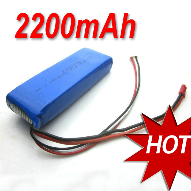 SF557A RC Helicopter Spare Parts High power capacity 7.4V 2200mAh 20C Li-poly Battery for SF556 SF557 SF558 F556 F557 F558<br><br>Aliexpress