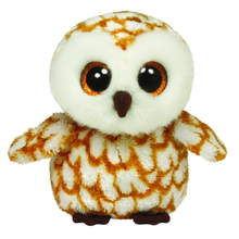 "Original 6"" 15 cm TY Beanie Boos Swoops Brown Barn Owl Plush Stuffed Doll Toy Collectible Big Eyes Owl Dolls Toys"