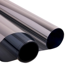 1.52M x 20M Glass Stickers Mirror Film Window One-Way Silver Light Building Window Film  B-Silver