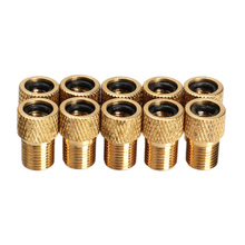Wholel Sale 10pcs/lot Presta To Schrader Air Pump Bicycle Bike Valve Type Adaptor Converter Adapter H1E1