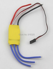 30A Brushless Motor Speed Controller RC BEC ESC T-rex 450 V2 Helicopter Boat