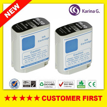 2x Black Ink Cartridges For HP10  hp10  C4844A for HP Officejet 9100/9110/9120/9130  printer