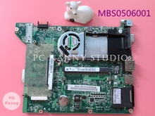 for Acer Aspire One A110 A150 ZG5 Netbook Motherboard MBS0506001 DA0ZG5MB8G0 N270 1.6Ghz CPU works