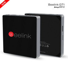 Buy Beelink GT1 TV Box Android 6.0 Amlogic S912 Octa Core H.265 2.4G+5.8G Dual WiFi Bluetooth 4.0 Set-top Box 2G 16G Media Player for $72.53 in AliExpress store
