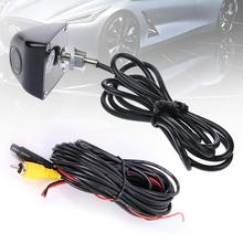 Black 120 DG Anti Fog Waterproof Backup Night Vision Car Rear View Camera Kit Wireless Car Parking Assistance Vehicle Camera(China)